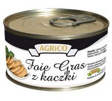 Foie Gras z kaczki producent konserw agrico
